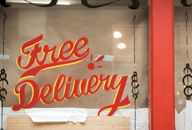 Free Delivery glass window signage photo – Free Shop Image on Unsplash