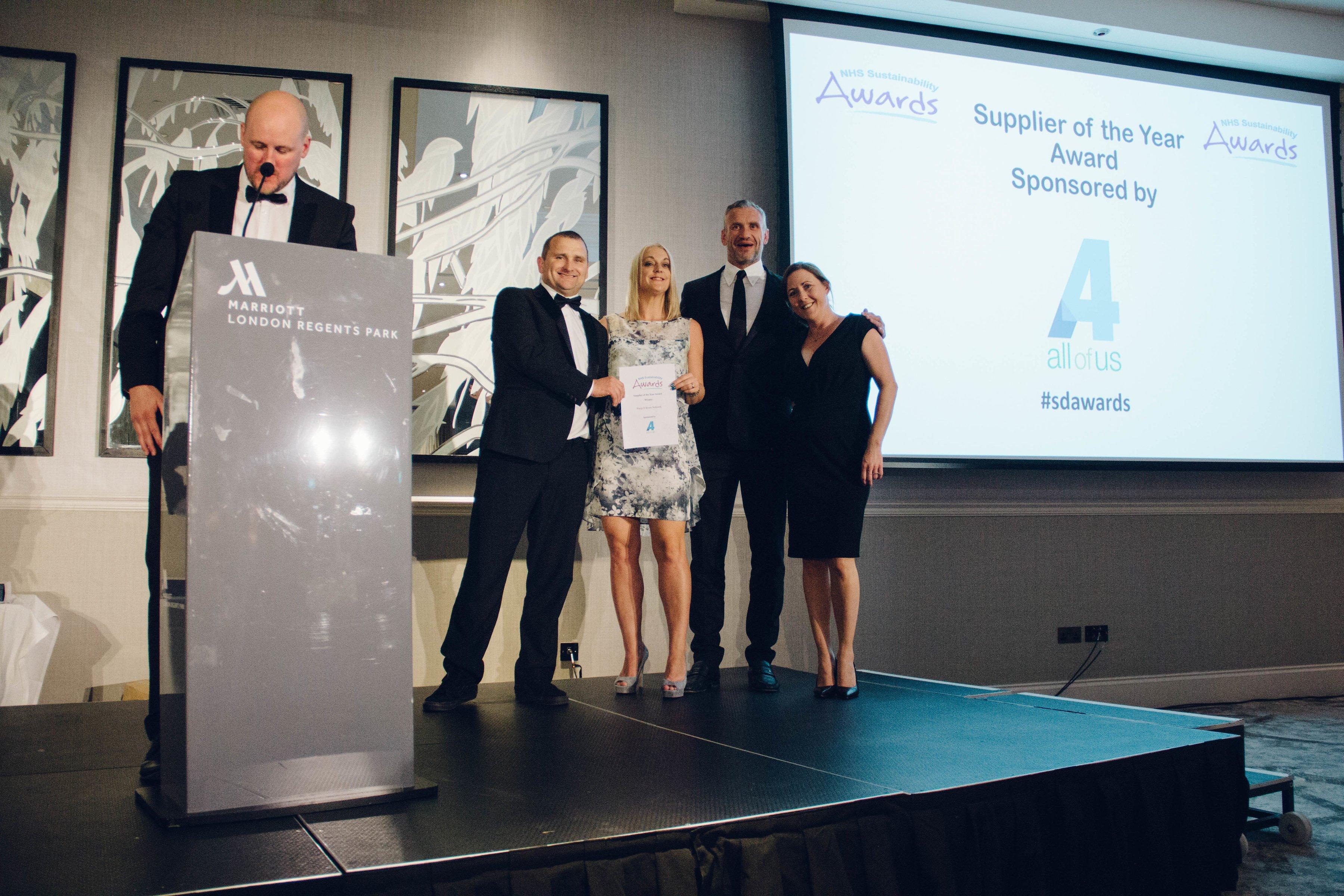 NHS awards supplier of year warp it