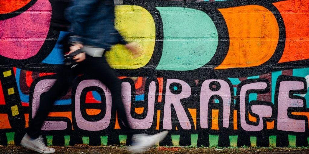 colourful courage