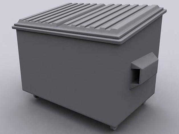 bin dumpster reuse waste surplus assets program project system