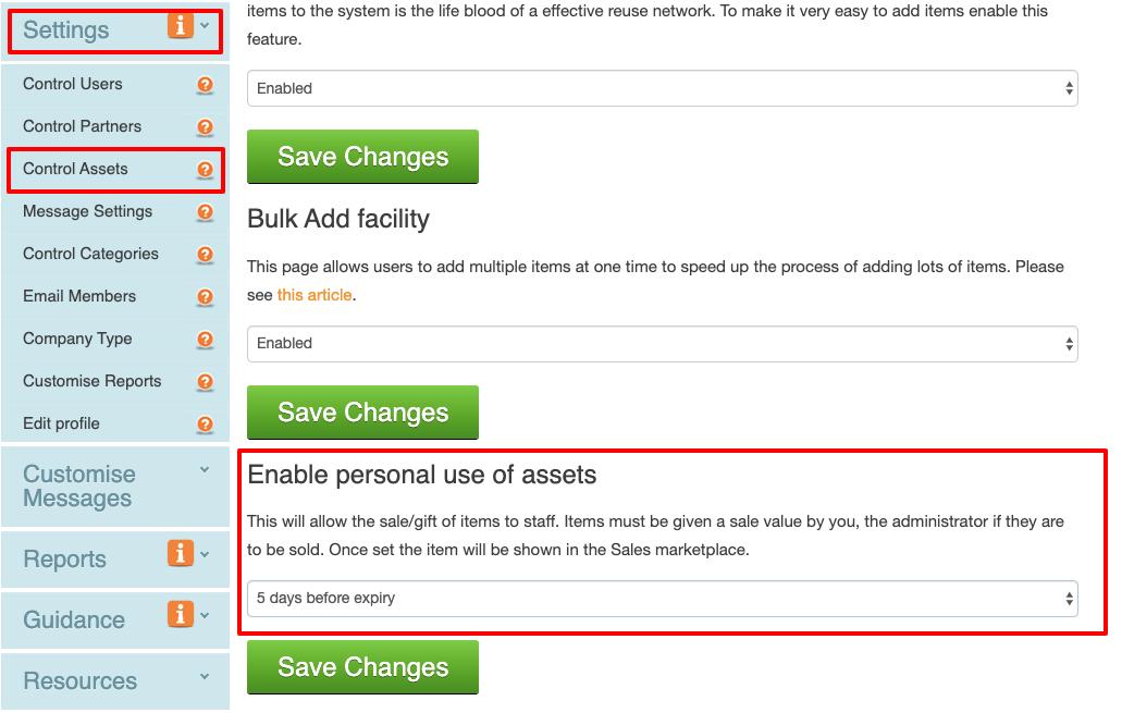 sales 1 enable https   warp-it co uk company-account settings assetsettings aspx
